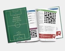 Load image into Gallery viewer, Personalized Soccer Quiz Book - IsleOfGifts