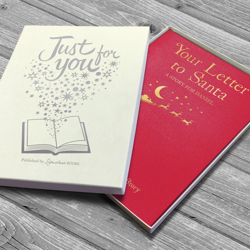 Your Letter to Santa Personalized Book - IsleOfGifts