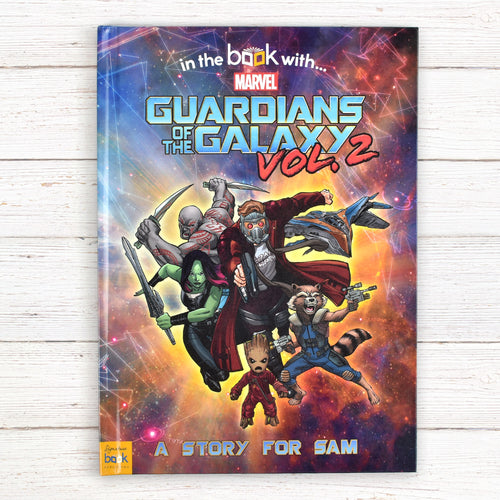Guardians of the Galaxy 2 Personalized Marvel Story Book - IsleOfGifts