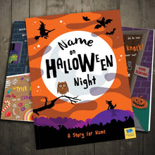 Load image into Gallery viewer, On Halloween Night Personalized Book - IsleOfGifts