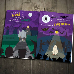 On Halloween Night Personalized Book - IsleOfGifts