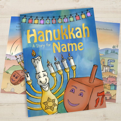 Personalized Hanukkah Story Book - IsleOfGifts