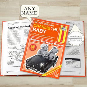 Personalized Haynes Explains Babies - IsleOfGifts
