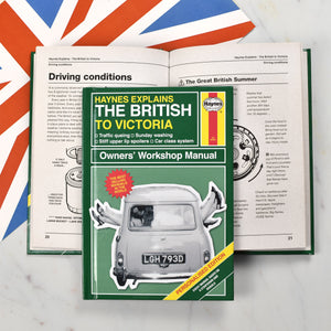 Personalized Haynes Explains the British - IsleOfGifts