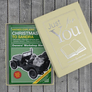 Personalized Haynes Explains Christmas - IsleOfGifts