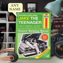 Load image into Gallery viewer, Personalized Haynes Explains Teenagers - IsleOfGifts