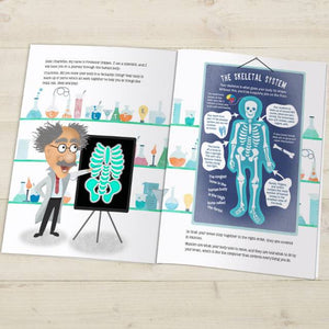 How Your Body Works Personalized Book - IsleOfGifts