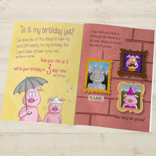 Load image into Gallery viewer, Is It My Birthday Yet Personalized Book - IsleOfGifts