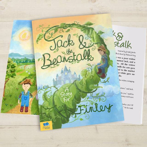 Jack and the Beanstalk Fairy Tale Book - IsleOfGifts