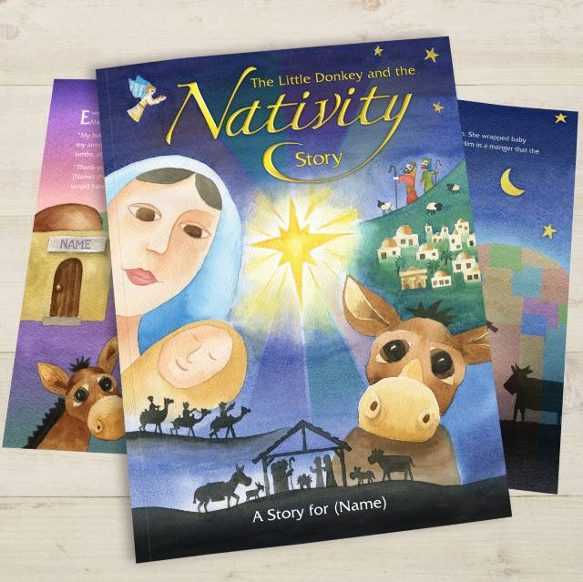 The Little Donkey and the Nativity Story - IsleOfGifts