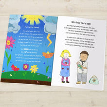 Load image into Gallery viewer, Personalized Modern Nursery Rhymes Book - IsleOfGifts