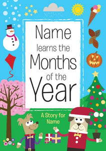 Months of the Year Personalized Book - IsleOfGifts