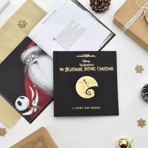 Personalized Nightmare Before Christmas Book - IsleOfGifts