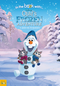 Personalized Disney Olaf's Frozen Adventure StoryBook - IsleOfGifts
