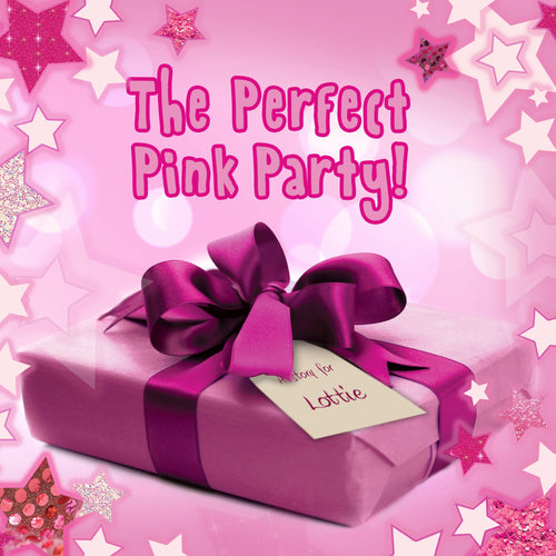 The Perfect Pink Party Personalized Book - IsleOfGifts