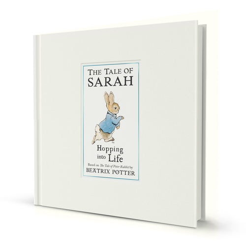 Peter Rabbit's Personalized Hopping into Life Book - IsleOfGifts