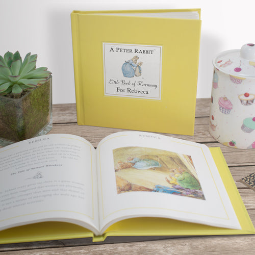 Peter Rabbit's Personalized Little Book of Harmony - IsleOfGifts