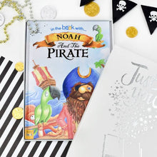 Load image into Gallery viewer, Personalized Pirate Story Book - IsleOfGifts
