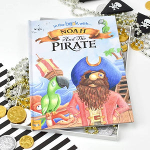 Personalized Pirate Story Book - IsleOfGifts