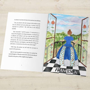 Princess and the Pea Fairy Tale Book - IsleOfGifts