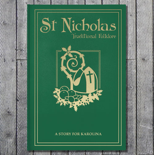 Personalized St Nicholas Traditional Folklore Book - IsleOfGifts