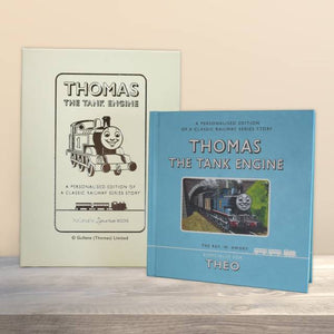 Personalized Thomas the Tank Engine First Edition Book - IsleOfGifts