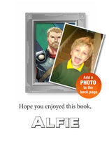 Load image into Gallery viewer, Thor Ragnarok Personalized Marvel Story Book - IsleOfGifts