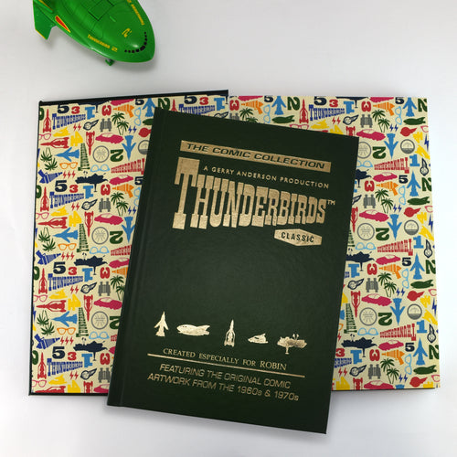 Personalized Thunderbirds Collector's Edition Book - IsleOfGifts