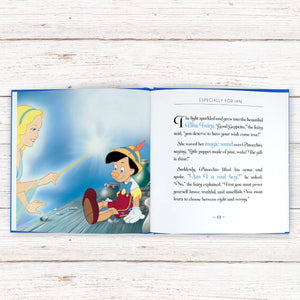 Personalized Disney Pinocchio StoryBook - IsleOfGifts