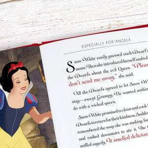Personalized Disney Snow WhiteStoryBook - IsleOfGifts