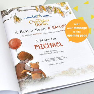 Christopher Robin: a Boy, a Bear, a Balloon - IsleOfGifts