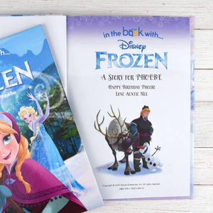 Personalized Disney Frozen StoryBook - IsleOfGifts