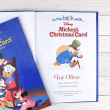 Load image into Gallery viewer, Personalized Disney Mickey's Christmas Carol StoryBook - IsleOfGifts