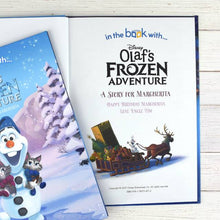 Load image into Gallery viewer, Personalized Disney Olaf's Frozen Adventure StoryBook - IsleOfGifts