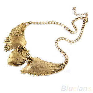 Hot Angel Wings Chain Collar Dresses Necklaces - IsleOfGifts