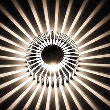 Load image into Gallery viewer, Led Wall Light with Round Sunflower Pattern - IsleOfGifts