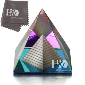 2'' Crystal Pyramid Energy Healing - IsleOfGifts