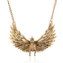 Load image into Gallery viewer, Angel Wing Necklace - IsleOfGifts