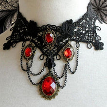Load image into Gallery viewer, Gothic Queen Necklace - IsleOfGifts