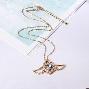 Love Angel Wings Necklace - IsleOfGifts