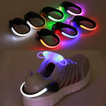 Load image into Gallery viewer, LED Luminous Shoe Clip Light For Running Cycling etc - IsleOfGifts