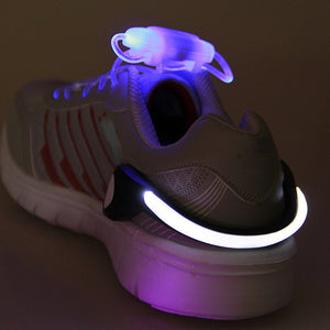 LED Luminous Shoe Clip Light For Running Cycling etc - IsleOfGifts