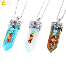 Load image into Gallery viewer, 7 Chakras Necklace Pendants - IsleOfGifts