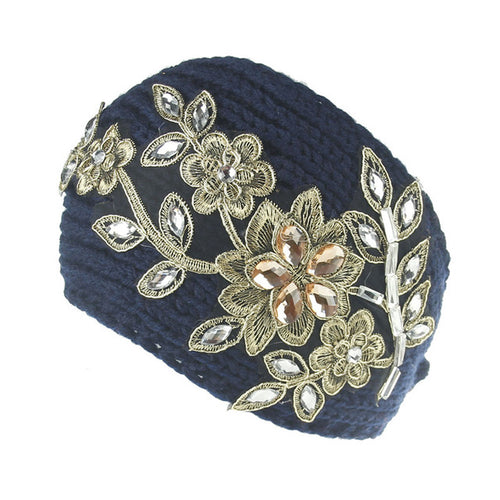 Winter Women Wide Knitting Woolen Headband