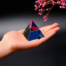 Load image into Gallery viewer, 2'' Crystal Pyramid Energy Healing - IsleOfGifts