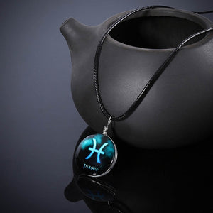 Zodiac Constellations Pendant