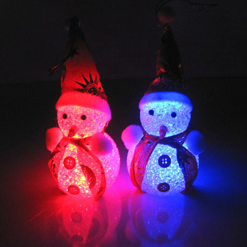Light Up Glowing Snowman with Warm White LED for Christmas Decoration - IsleOfGifts
