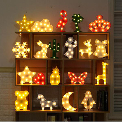 3D LED Lamp - IsleOfGifts