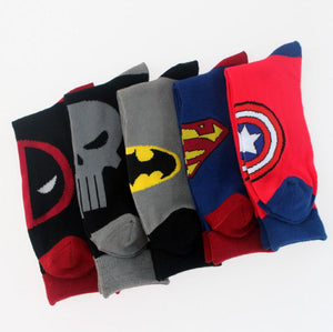 MARVEL COMICS Super Hero Kids Cotton Socks - IsleOfGifts
