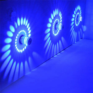 Colorful 360 Degrees Spiral Wall Lamp - IsleOfGifts